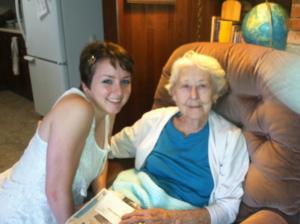 The last time I saw Grandma, 7/8/13.