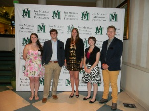 The other four Murray Scholars and me