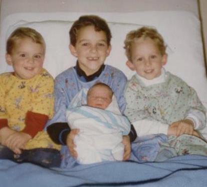 Three boys & aprincess