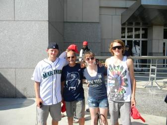 Me, Daddy, Trevor & Adam